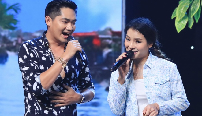 Minh Luan tuong tu co ban sau rieng Phuong Trinh Jolie tren san khau hinh anh