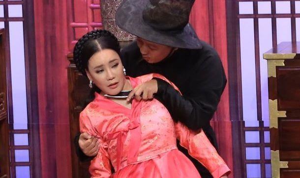 Ho Quynh Huong to Ho Ngoc Ha ham hai Truong Giang o On gioi hinh anh