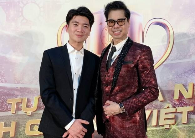 Con trai bau Hien nhan Ngoc Son la thay anh 1
