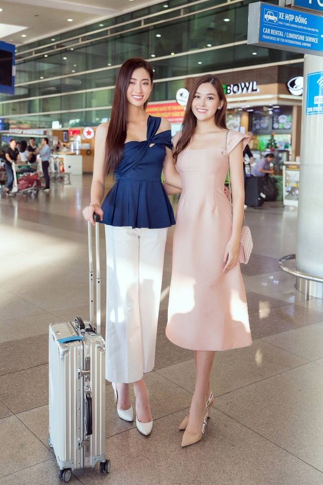 Luong Thuy Linh ve nuoc sau Miss World anh 6