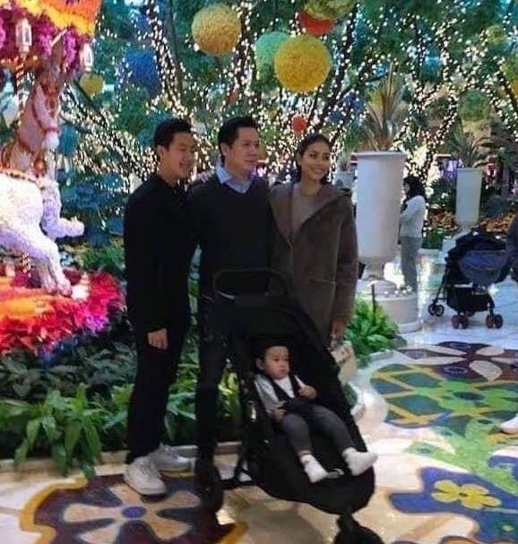 Pham Huong xuat hien cung con trai va chong sap cuoi? hinh anh 1 82191460_2497128233747823_5341517664869154816_n.jpg