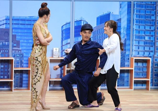 Lynk Lee phan ung khi Truong Giang hon anh 3
