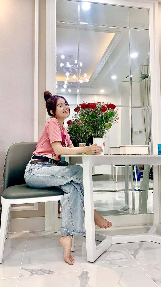 Kha Ly xay nha 5 tang de chuan bi co con anh 2