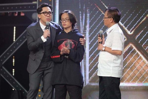 Tran Thanh lam MC Rap Viet mua hai anh 1