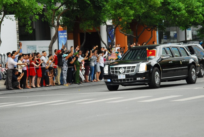 Tong thong Obama roi Sai Gon, ket thuc chuyen tham Viet Nam hinh anh 20