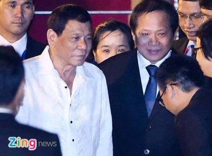 Tong thong Philippines Duterte den Da Nang du APEC hinh anh