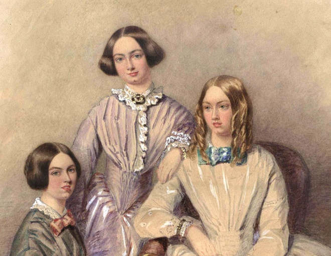 Anne Bronte,  Nguoi gia su,  Emily Bronte anh 2