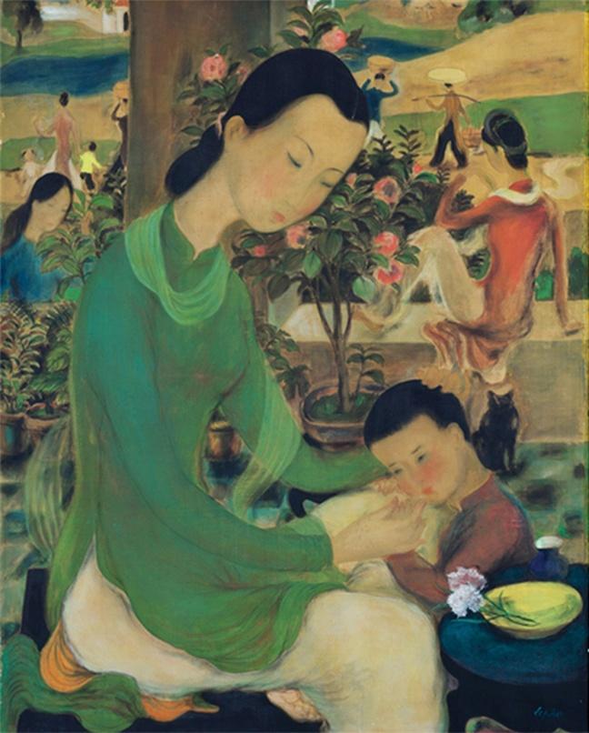 Tranh Le Pho tai Sotheby's ve nguoi phu nu ky di la do gia? hinh anh 2