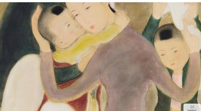 Tranh Le Pho tai Sotheby's ve nguoi phu nu ky di la do gia? hinh anh