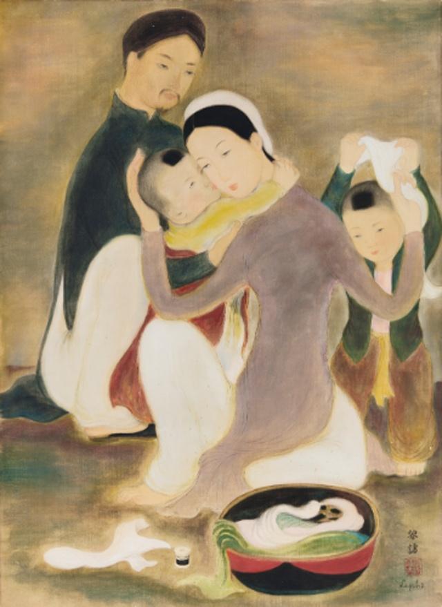 Sotheby's phan hoi viec ban tranh ky di de ten Le Pho hinh anh 1