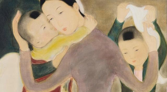 Sotheby's phan hoi viec ban tranh ky di de ten Le Pho hinh anh