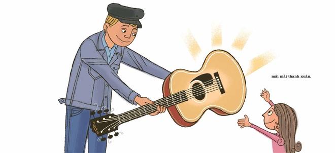 Thanh xuan Bob Dylan duoc tai hien trong sach tranh hinh anh 13