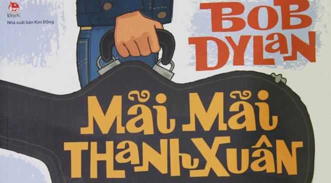 Thanh xuan Bob Dylan duoc tai hien trong sach tranh hinh anh