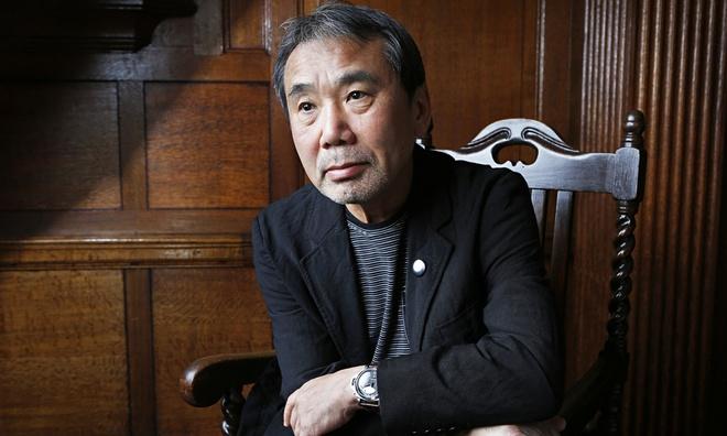 Nobel van hoc,  Bob Dylan,  Haruki Murakami anh 2