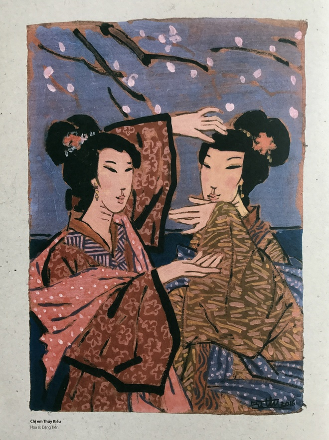 Cuoc doi luu lac cua nang Kieu trong tranh hoa si duong thoi hinh anh 2
