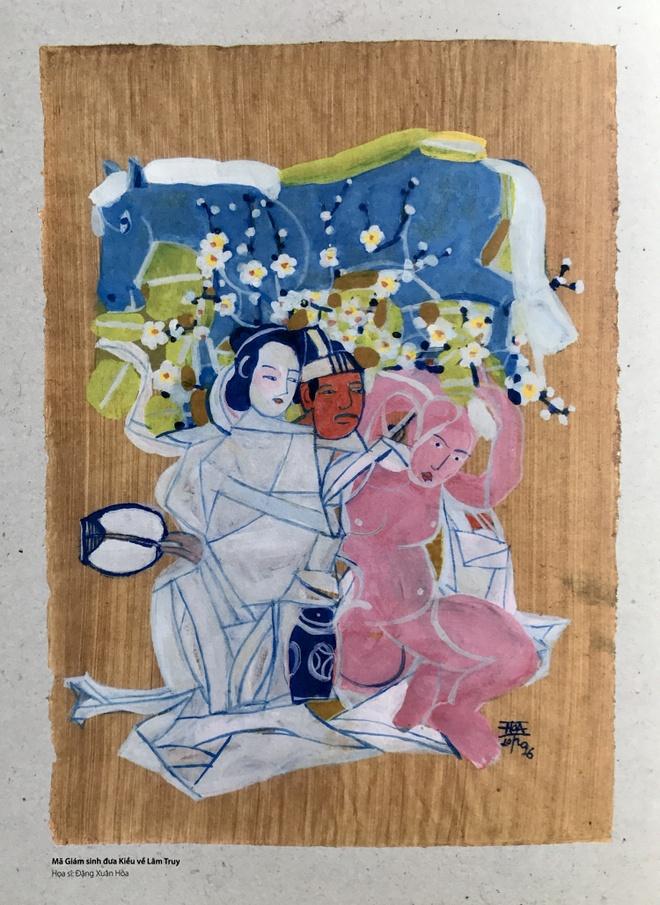 Cuoc doi luu lac cua nang Kieu trong tranh hoa si duong thoi hinh anh 4