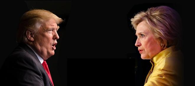 Hillary tap trung cong kich Trump hinh anh 1