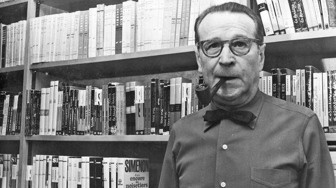Toa dam ve nha van trinh tham lung danh Georges Simenon hinh anh 1
