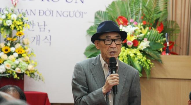 Ung vien Nobel Van chuong Ko Un: Viet Nam la que huong cua toi hinh anh 1