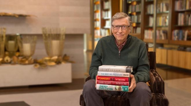 Bill Gates tiet lo 5 cuon sach yeu thich trong nam 2017 hinh anh