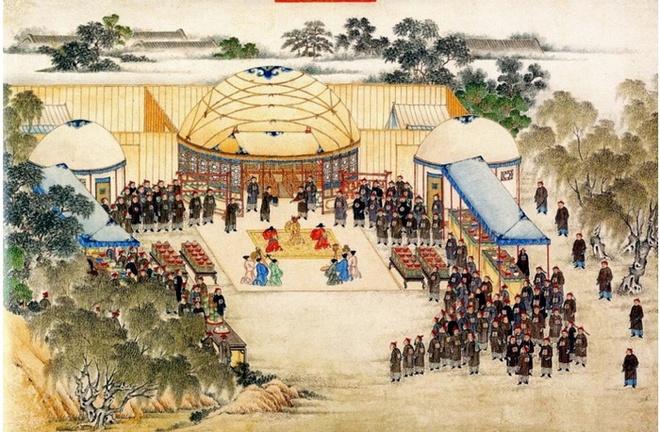 Co phai vua Quang Trung sang Trung Quoc va duoc ve chan dung? hinh anh 2