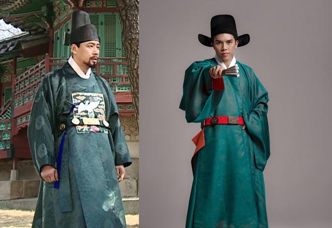 Trang phuc vua quan Viet thoi Le co giong hanbok cua Han Quoc? hinh anh 1