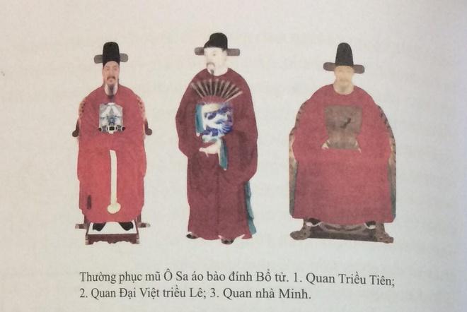 Trang phuc vua quan Viet thoi Le co giong hanbok cua Han Quoc? hinh anh 3