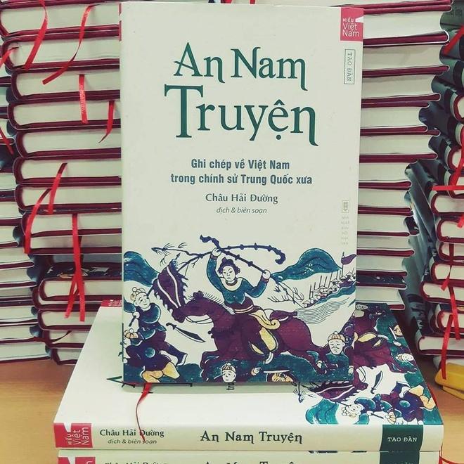 An Nam Truyện cho thấy tinh thần của Đại Việt đã được thể hiện trong các bộ  sử của Trung Quốc.