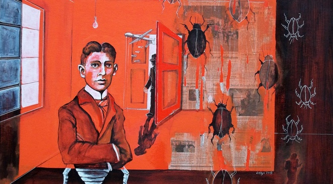 Tim dau Kafka trong nen van chuong Viet Nam hinh anh