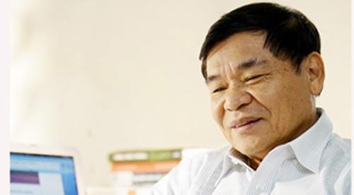 Nha van Nguyen Truong doat giai nhat cuoc thi truyen ngan bao Van nghe hinh anh