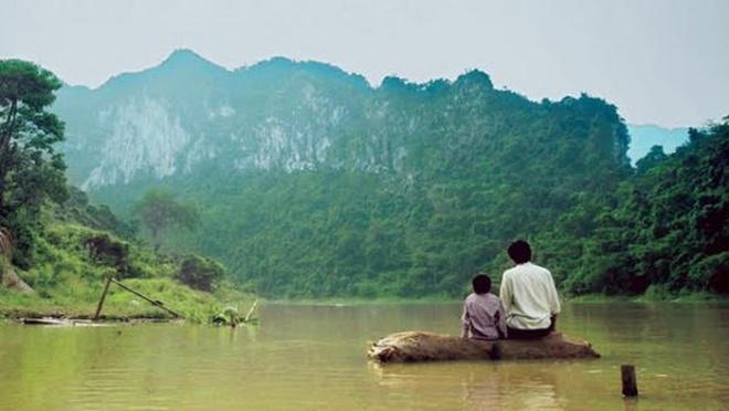 'Cha cong con': Tu su cam dong tren trang viet cua Luong Dinh Dung hinh anh