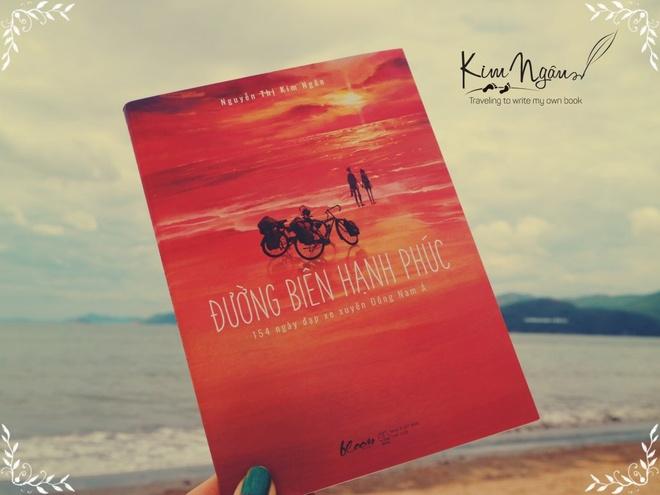 Cuốn sách Đường biên hạnh phúc của nữ tác giả Nguyễn Thị Kim Ngân.