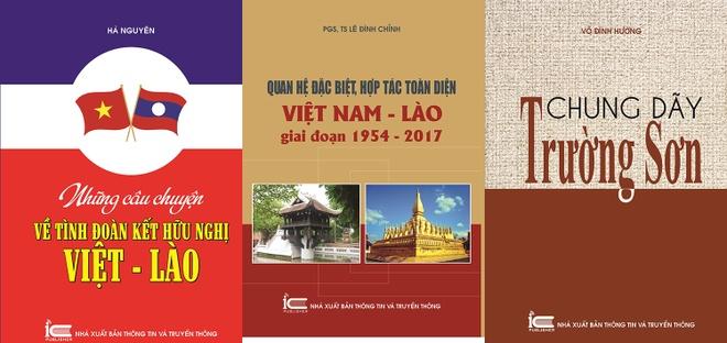 Xuat ban bo sach ve moi quan he gan bo Viet - Lao hinh anh 1