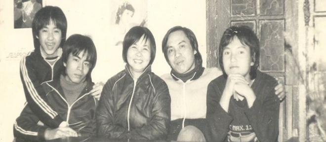 Nhung hinh anh ve gia dinh Xuan Quynh - Luu Quang Vu anh 6