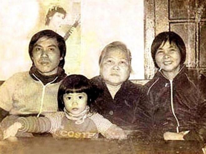 Nhung hinh anh ve gia dinh Xuan Quynh - Luu Quang Vu anh 7