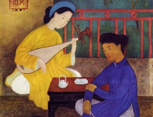 Giua Ho Xuan Huong va dai thi hao Nguyen Du co mot moi tinh? hinh anh
