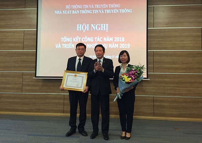 NXB Thong tin va Truyen thong tong ket 2018 anh 3