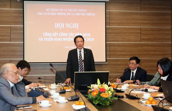 NXB Thong tin va Truyen thong tong ket 2018 anh 1