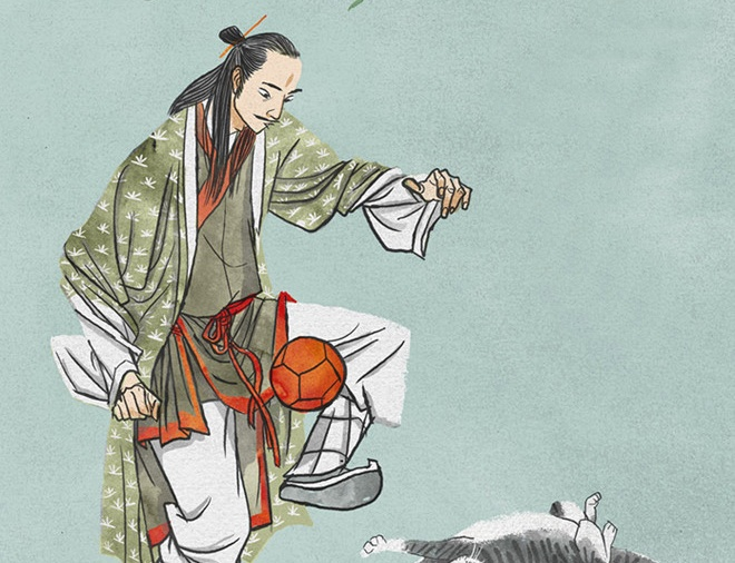 700 năm trước, người Việt đã đá bóng da?