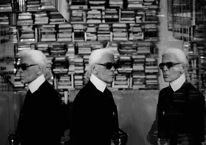 Bo suu tap sach cua Karl Lagerfeld anh 3