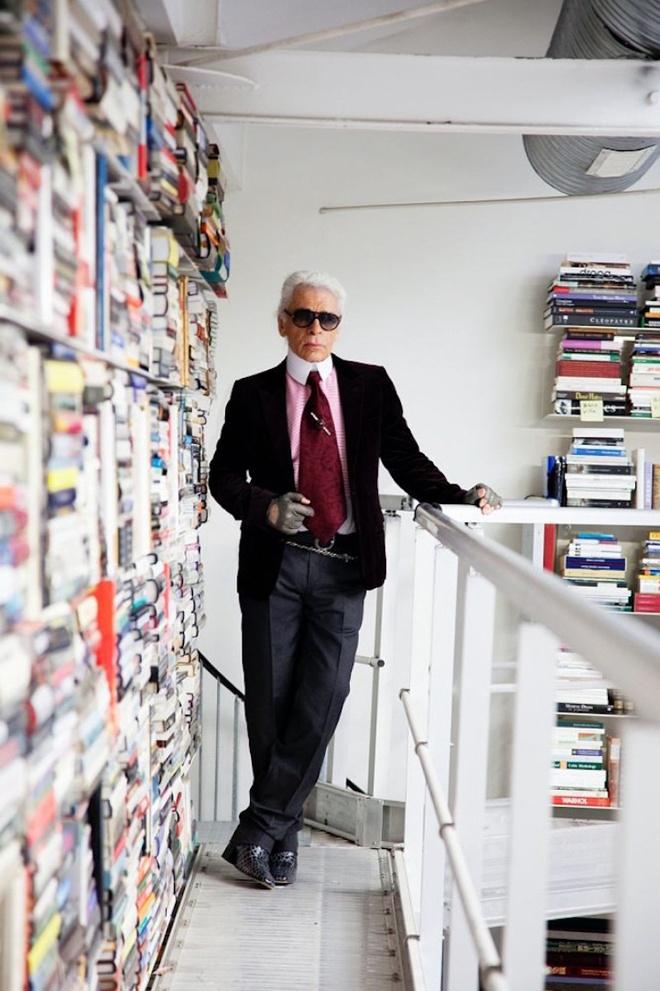 Bo suu tap sach cua Karl Lagerfeld anh 7
