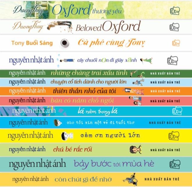 Nguyen Nhat Anh tiep tuc thong tri bang xep hang sach ban chay hinh anh 2