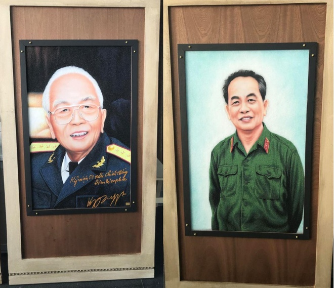 Sach thu phap ky luc ve Dai tuong Vo Nguyen Giap anh 5