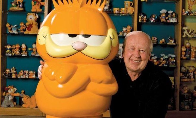 Meo sieu quay Garfield duoc 'ra doi' nhu the nao? hinh anh 2
