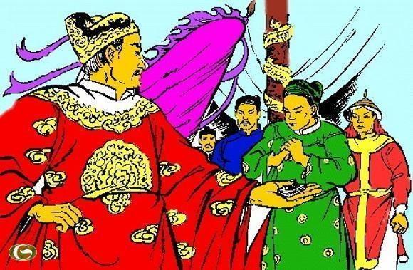 Vua Tran Minh Tong xu oan nhac phu anh 2