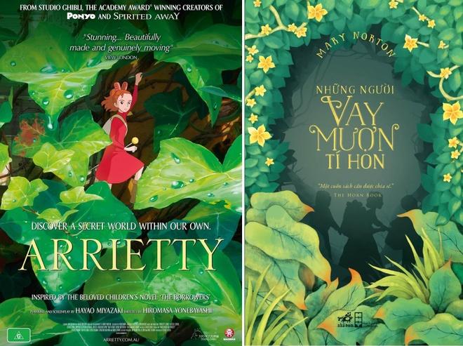 Nhung bo phim hoat hinh Ghibli duoc chuyen the tu sach hinh anh 5