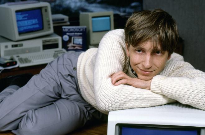 Thoi sinh vien cua Bill Gates anh 1