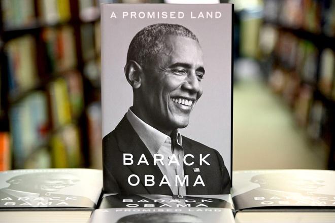 Chúng tôi mua bản quyền hồi ký Obama với giá kỷ lục