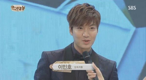 'The Heirs' dai thang SBS Drama Awards 2013 hinh anh