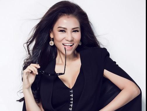 3 tuan sau sinh, Thu Minh tro lai 'ghe nong' Vietnam Idol hinh anh